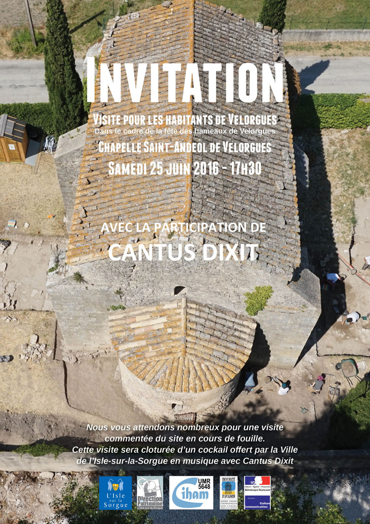 invitation Cantus Dixit Velorgues