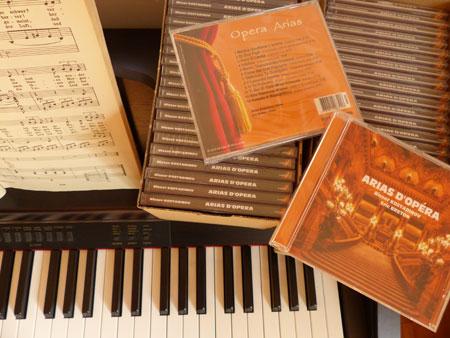 visuel du cd Arias d'Opéra
